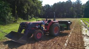 Small Tractor with Plotter
